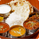 ネパール料理のコース